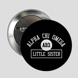 "Alpha Chi Omega Little Sist 2.25"" Button (10 pack)"