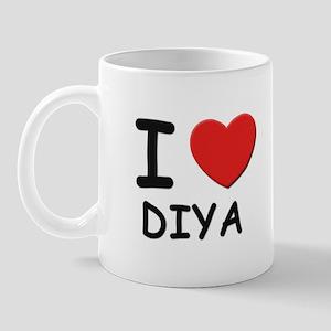 I love Diya Mug