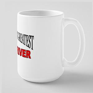 """The World's Greatest Bus Driver"" Large Mug"