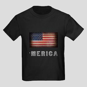 'Merica Kids Dark T-Shirt