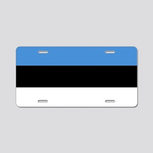 Flag of Estonia Aluminum License Plate