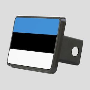 Flag of Estonia Rectangular Hitch Cover