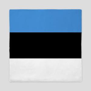 Flag of Estonia Queen Duvet