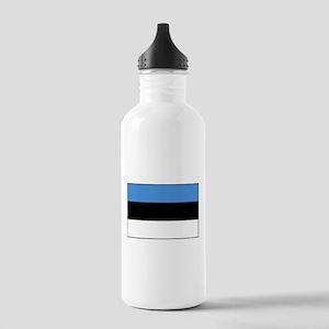 Flag of Estonia Stainless Water Bottle 1.0L