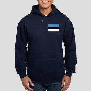 Flag of Estonia Hoodie (dark)