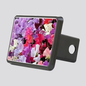 Sweet peas flowers in bloom Hitch Cover