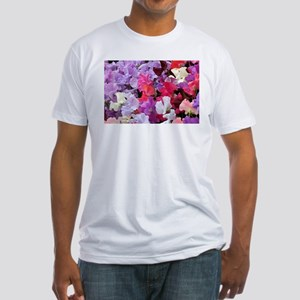 Sweet peas flowers in bloom T-Shirt