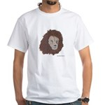 Lion Profile White T-Shirt