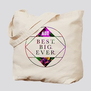Alpha Omicron Pi Best Big Tote Bag