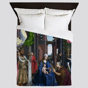 Mabuse: Adoration of the Kings Queen Duvet