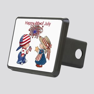 Happy 4th of July Hitch Cover