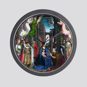 Mabuse: Adoration of the Kings Wall Clock