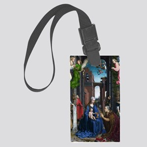 Mabuse: Adoration of the Kings Large Luggage Tag