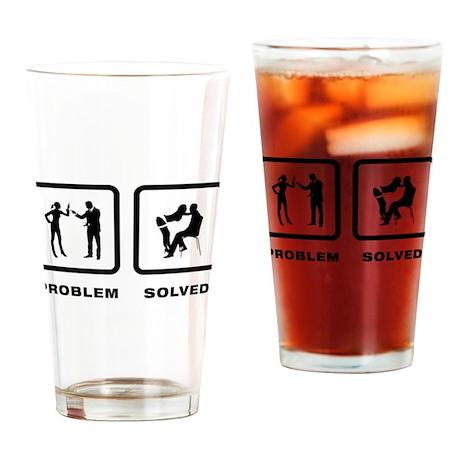 Stripping Drinking Glass
