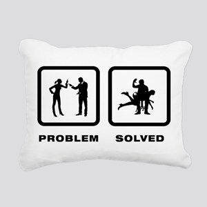 Spanking Rectangular Canvas Pillow