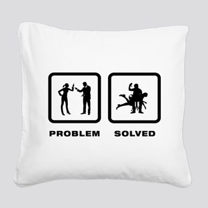 Spanking Square Canvas Pillow
