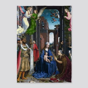 Mabuse: Adoration of the Kings 5'x7'Area Rug