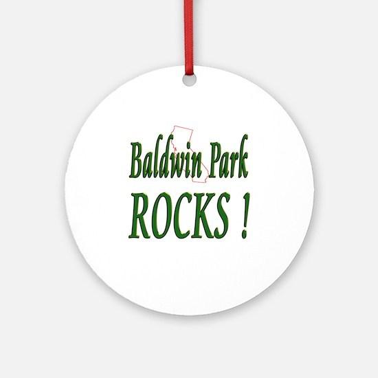 Baldwin Park Rocks ! Ornament (Round)