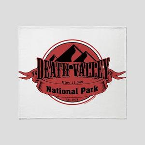 death valley 5 Throw Blanket