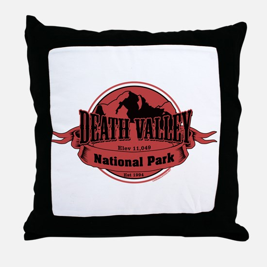 death valley 3 Throw Pillow