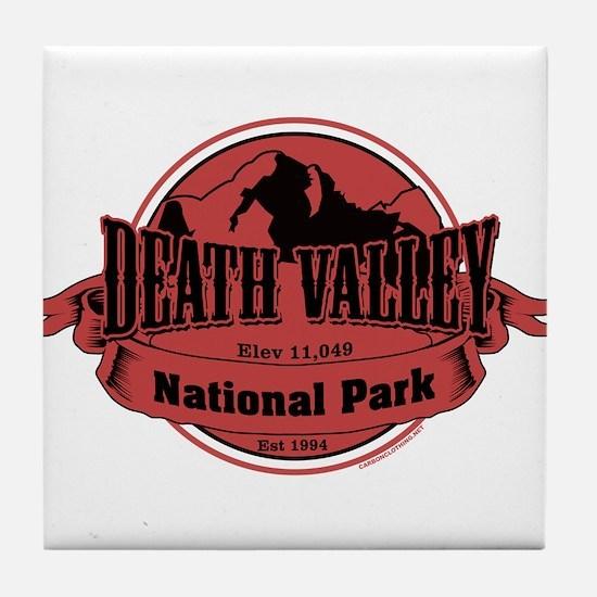 death valley 3 Tile Coaster