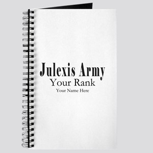 Julexis Army Rank and Name Journal