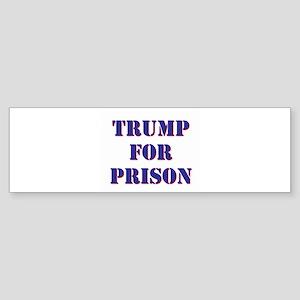 Trump for Prison Bumper Sticker