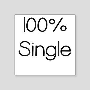 100 Percent Single Sticker