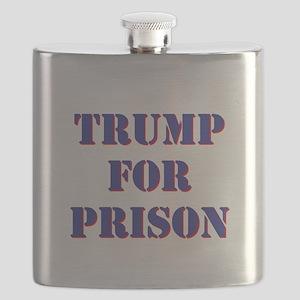 Trump for Prison Flask