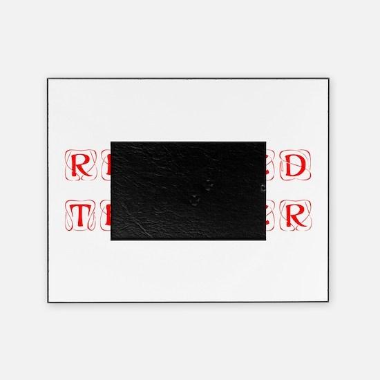 retired-teacher-kon-red Picture Frame