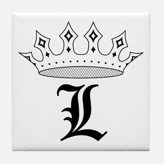 Crown L Tile Coaster