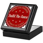 Build The Fence Keepsake Box