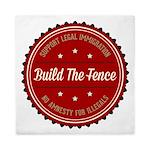 Build The Fence Queen Duvet