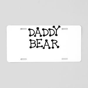 DADDY BEAR Aluminum License Plate