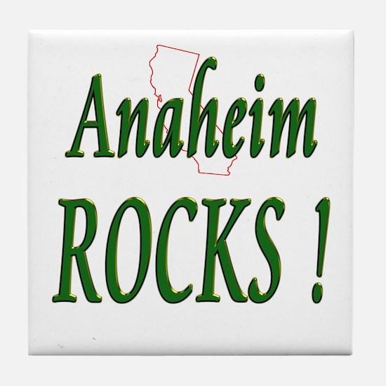 Anaheim Rocks ! Tile Coaster