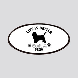 Life is better with PBGV Patches
