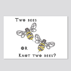 Two Bees Postcards (Package of 8)