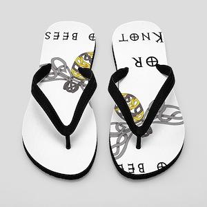 Two Bees Flip Flops