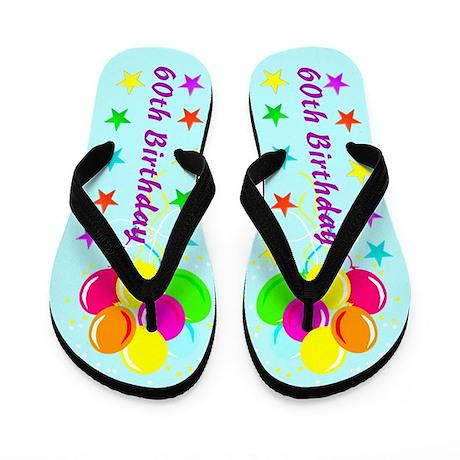 CELEBRATE 60 Flip Flops