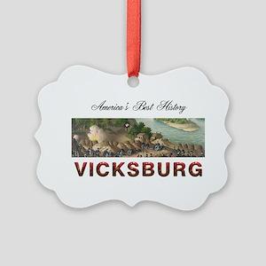 ABH Vicksburg Picture Ornament
