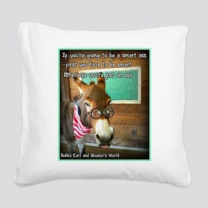 Which are you? Square Canvas Pillow