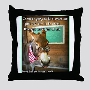 Which are you? Throw Pillow