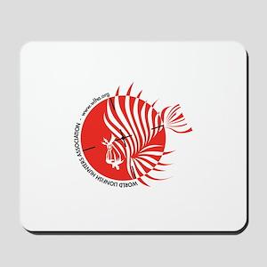 World Lionfish Hunters Association Logo Mousepad