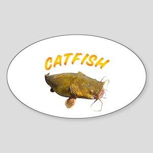 Catfish side Sticker