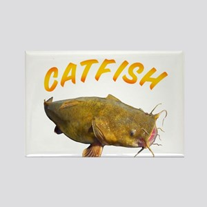 Catfish side Rectangle Magnet