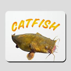 Catfish side Mousepad