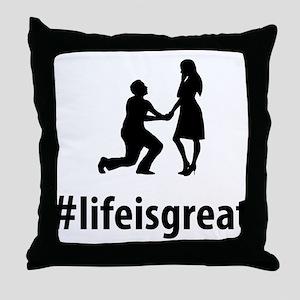 Proposing Throw Pillow