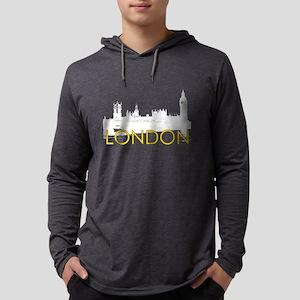 London Landmarks: Parliament #1 Mens Hooded Shirt