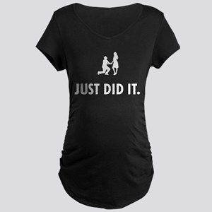 Proposing Maternity Dark T-Shirt