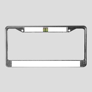 Scorned License Plate Frame